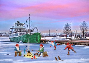 Osmo-laiva, Kuopio