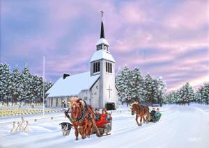 Pyhän Ristin kirkko, Kuusamo